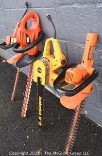 Four (4) Lawn Power Tools.