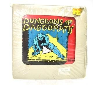 Vintage Dungeons Of Daggorath Tandy TRS-80 Color Computer Game in Cartridge New and Sealed in its Original Packaging