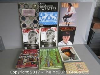 Collection of Books and Magazines