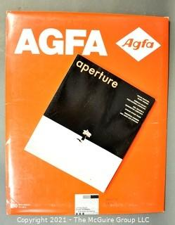 """NOS AGFA Photo Paper and Book titled """"Aperture"""""""