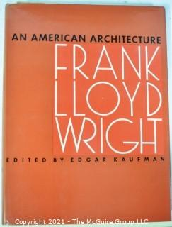 (2) Books Covering Frank Lloyd Wright's Works