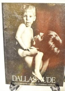"""Book Titles: """"New York Nude"""", """"Dallas Nude"""" and """"The Picture Book of Sexual Love"""""""