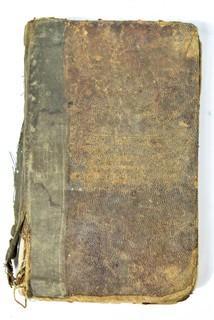 Books: (3) Schoolmaster Assistant Books, circa 1825