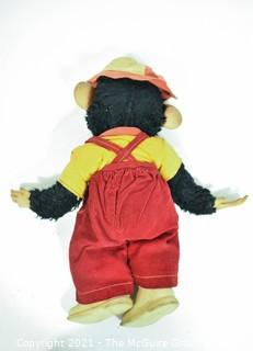 """Vintage Zip """"Zippy"""" The Monkey From The Howdy Doody Show Made By Rushton Company. Meaures 20"""" tall."""