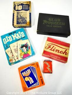 Group of Vintage Card Games.
