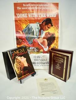 """Book Titles: """"MGM Posters"""" and """"100 Years of Adventure and Discovery"""", National Geographic Society"""