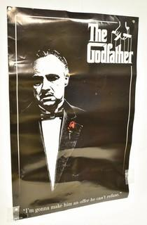 """Unframed The Godfather Red Rose Movie Poster by Pyramid America  22"""" x 33""""."""