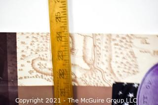 "Unframed Baltimore Poster.   Measures 24"" x 36"""