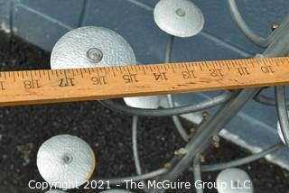 """Vintage Tiered Hat Display. Measures 36"""" tall."""