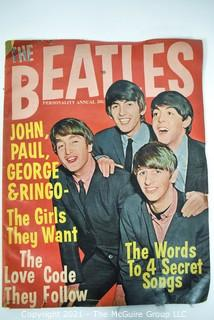 Vintage Beatles Personality Annual #1 1964, 1st Issue with John, Paul, George & Ringo on Cover.