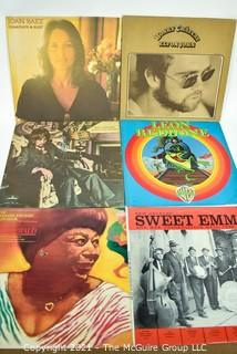 Six (6) Vintage LP Vinyl Records.