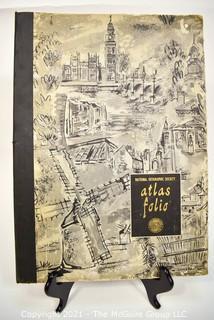 National Geographic Society Atlas Folio, 1958.