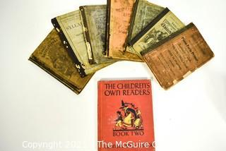 Collection of Children's Books and Primers.