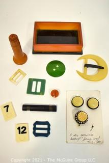 Collection of Bakelite Items.