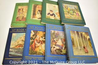 Eight Volumes of My Book House 1953 by Olive Beaupré Miller.