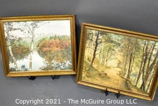 Two framed Wallace Nutting Prints