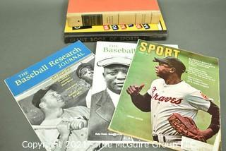Vintage Sports Books and Magazines