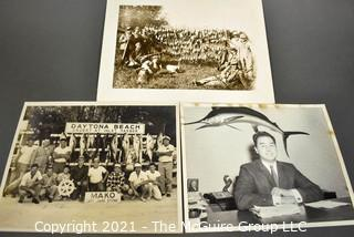 Vintage Black & White Hunting and Fishing Photos