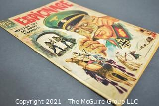 Vintage Comic Book Espionage Master Spy Of Many Faces May-July 1964