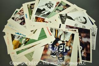 Group of Color Football Sports Photographs by Art Rickerby.  (?)
