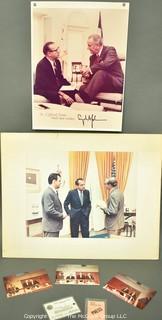 Political Photos and Ephemera of Clifford Evans