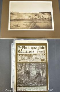 """Magazine: Individual pages of the 1905 """"Photographic Times"""" Magazine"""