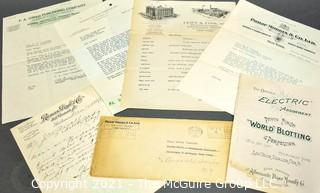 Collection of Vintage Mercantile Ephemera