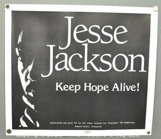 1988 Presidential Campaign Poster of Jesse Jackson