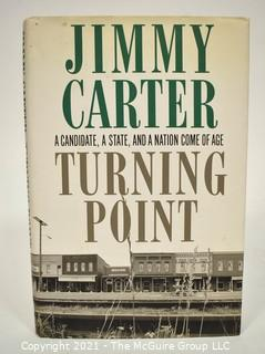 """""""Turning Point"""" Signed by Jimmy Carter, 39th President of the United States."""