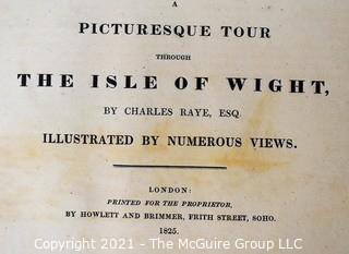 Book:  1825 Picturesque Tour of The Isle of Wight, Illustrated with numerous views, London