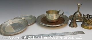 REVISED: Assorted sterling serving holloware