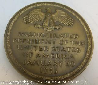 Bronze Medallion: President Dwight D. Eisenhower