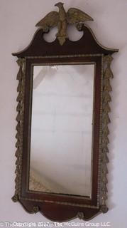 Federal Eagle Top Wall Mirror; 24 x 46""