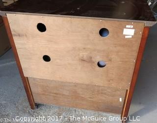 """Two door over one drawer cabinet: 36""""W x 18""""D x 30""""T"""