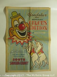 Vintage Circus Ephemera (see the many photos)