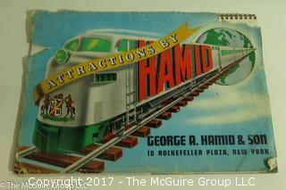 """""""Hamid"""" Vintage Circus Ephemera"""