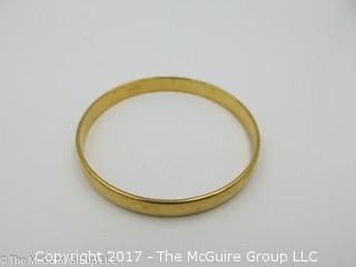 Monet gold toned bracelet -#1311