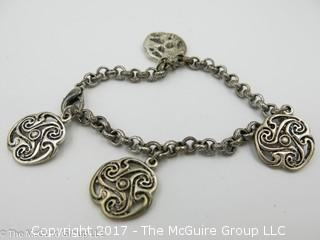 Sterling bracelet -#1312