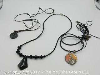 Collection of  3 necklaces -#1316