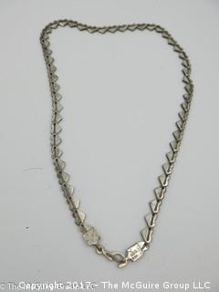 Sterling necklace -#1318