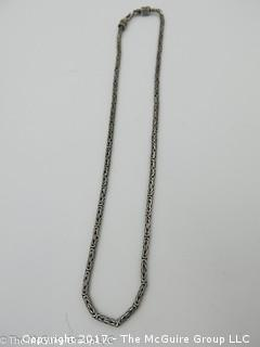 Sterling necklace -#1324