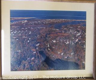 Aerial Framed Photo of Barnstable, MA (Cape Cod) (21 1/2 x 25 1/2""