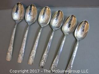 1939 New York World's Fair: 6 spoons