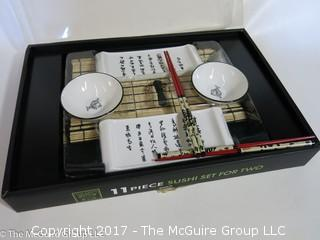 11 piece Sushi Set; NIB