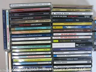 Large number of CD's
