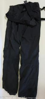 """Eider"" Goretex ski pants; Euro size 44 (made in France); and snorkeling gear"