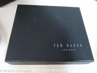 "Collection including tuxedo accessories; and (2) NIB ""Ted Baker"" ladies wallets"