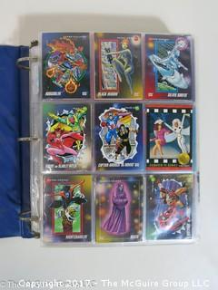 Marvel Trading Cards,1992-95; Sky box, Impel, Fleer, Upper Deck (875- a few foil, no holograms)