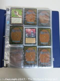 120 cards, commons, no rares, in binder with extra pages