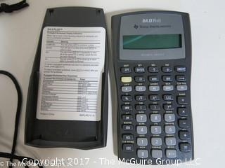 Collection including Roll Up Piano and Texas Instruments Business Analyst  Calculator (TI BA II Plus)